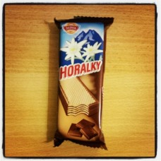 Horalky, cocoa-chocolate cream filling