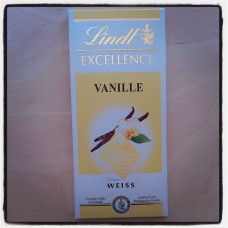 Lindt Excellence Weiss Vanilla