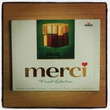 Merci Chocolate with mandel
