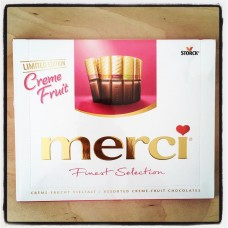 Merci Creme-fruit chocolates