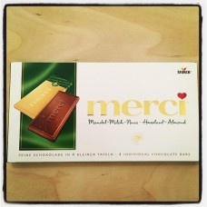 Merci Hazelnut-Almond, 100g