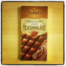 Stühmer Milk chocolate with caramel