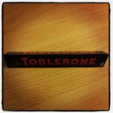 Toblerone, dark chocolate 100g