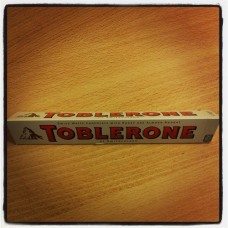 Toblerone, white chocolate 100g
