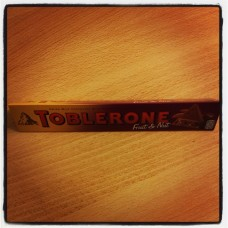 Toblerone, with raisins, 100g