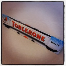 Toblerone, white chocolate 400g