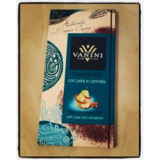 Vanini, Dark Chocolate with Pear and Cinnamon