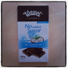 Wawel Diabetic milk chocolate coconut