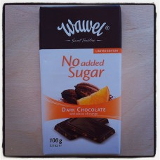 Wawel Diabetic dark chocolate with orange